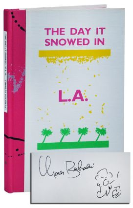 THE DAY IT SNOWED IN L.A.: THE ADVENTURES OF CLARENCE HIRAM SWEETMEAT - DELUXE ISSUE, SIGNED,...