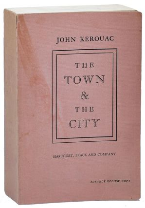 THE TOWN AND THE CITY - JACKSON MAC LOW'S COPIES (FIRST TRADE AND ADVANCE), TOGETHER WITH A TLS FROM THE PUBLISHER
