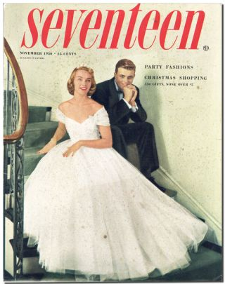 FIVE EARLY APPEARANCES IN SEVENTEEN MAGAZINE - 1950-1953. Sylvia Plath, contributions
