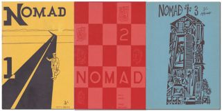 NOMAD - ISSUES 1-11 (COMPLETE RUN). Donald Factor, Anthony Linick, John Daly, Charles Bukowski,...