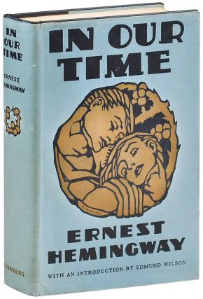 IN OUR TIME: STORIES. Ernest Hemingway, Cleonike Damianakes, stories, cover art