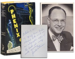 PHENIX CITY - INSCRIBED BY GENE WORTSMAN, WITH AN ORIGINAL PHOTO LAID IN. Edwin Strickland, Gene...
