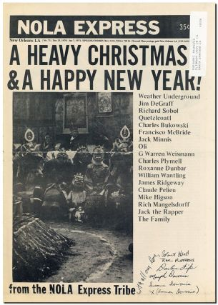 NOLA EXPRESS - NO.71 (DEC.25, 1970-JAN.7, 1971). Charles Bukowski, contributors
