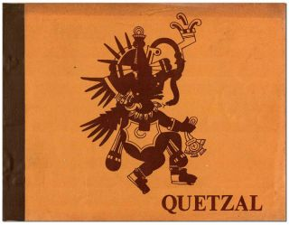 QUETZAL: A JOURNAL OF NATIVE AMERICA, LA RAZA COSMICA, THE FIFTH WORLD - VOL.1, NO.3 (SUMMER,...