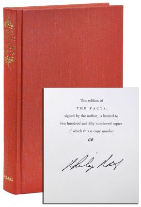 THE FACTS: A NOVELIST'S AUOBIOGRAPHY - LIMITED EDITION, SIGNED. Philip Roth