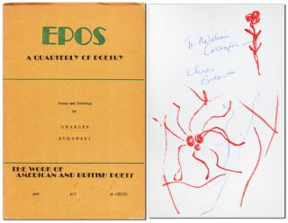POEMS AND DRAWINGS [IN] EPOS: A QUARTERLY OF POETRY - INSCRIBED TO JOHN WILLIAM CORRINGTON....