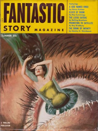 FANTASTIC STORY MAGAZINE - VOL. 7, NO. 2 (SUMMER ISSUE). Ray Bradbury, Bolling Branham, Ray...