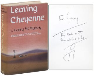 LEAVING CHEYENNE - INSCRIBED. Larry McMurtry