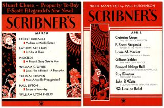 TENDER IS THE NIGHT [IN] SCRIBNER'S MAGAZINE (VOL.XCV. NOS.1-4, JANUARY-APRIL, 1934)