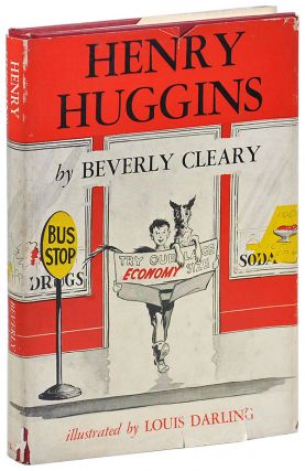 HENRY HUGGINS. Beverly Cleary, Louis Darling, novel, illustrations