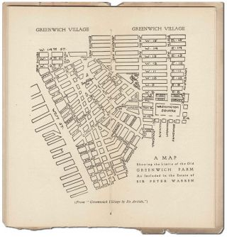 THE LITTLE BOOK OF GREENWICH VILLAGE: A HANDBOOK OF INFORMATION CONCERNING NEW YORK'S BOHEMIA, WITH WHICH IS INCORPORATED A MAP & DIRECTORY