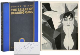 THE BALLAD OF READING GAOL - INSCRIBED. Oscar Wilde, John Vassos, poem, illustrations