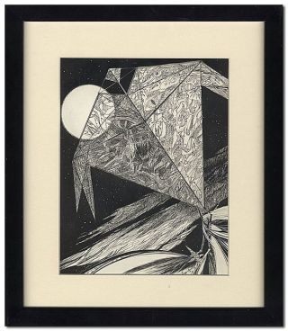 """THE HALLOWEEN KITE"" - ORIGINAL ILLUSTRATION FROM THE HALLOWEEN TREE. Ray Bradbury, Joseph..."