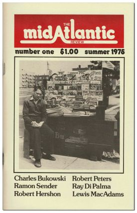 THE MIDATLANTIC REVIEW - VOL.1, NO.1 (SUMMER 1975) - SIGNED [TOGETHER WITH] CORRECTED TYPESCRIPT...