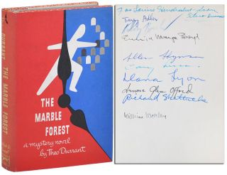 THE MARBLE FOREST - SIGNED BY 10 CONTRIBUTORS, WITH TYPED POSTCARD SIGNED BY BOUCHER. Theo...