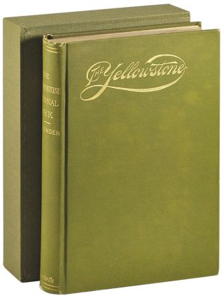 THE YELLOWSTONE NATIONAL PARK. HISTORICAL AND DESCRIPTIVE. TRAVEL, Hiram Martin Chittenden
