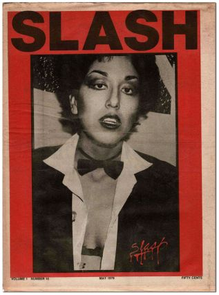 SLASH - VOL.1, NO.10 (MAY, 1978). Steven Samiof, Melanie Nissen