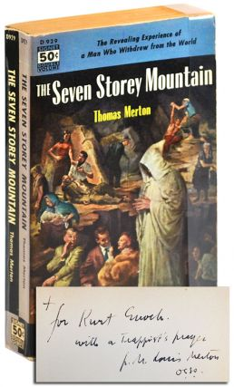 THE SEVEN STOREY MOUNTAIN - INSCRIBED TO KURT ENOCH. Thomas Merton
