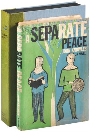 A SEPARATE PEACE: A NOVEL - ADVANCE COPY. John Knowles