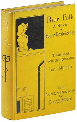 POOR FOLK: A NOVEL. Fedor Dostoievsky, Aubrey Beardsley, novel, cover