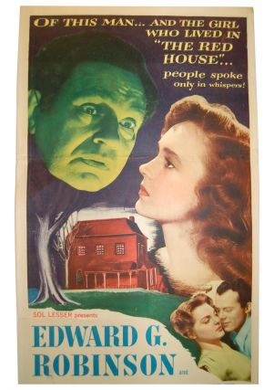 THE RED HOUSE - ORIGINAL INSERT FILM POSTER
