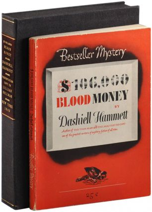 $106,000 BLOOD MONEY - INSCRIBED TO LILLIAN HELLMAN