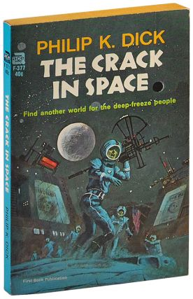 THE CRACK IN SPACE - SIGNED
