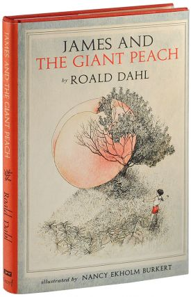 JAMES AND THE GIANT PEACH: A CHILDREN'S STORY - SIGNED BY THE ILLUSTRATOR