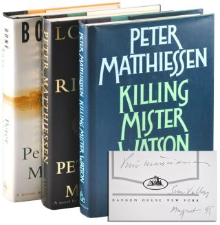THE WATSON TRILOGY: KILLING MISTER WATSON, LOST MAN'S RIVER, AND BONE BY BONE - SIGNED. Peter...