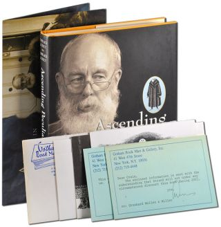 ASCENDING PECULIARITY: EDWARD GOREY ON EDWARD GOREY - WITH ILLUSTRATED PROSPECTUS/POSTER AND...