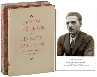 BEFORE THE BRAVE - REVIEW COPY. Kenneth Patchen