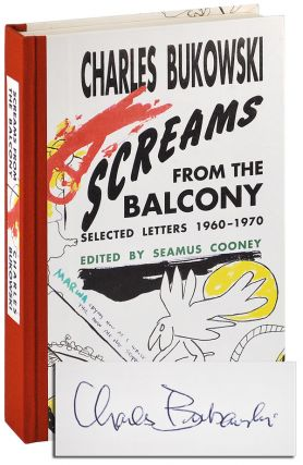 SCREAMS FROM THE BALCONY: SELECTED LETTERS 1960-1970 - LIMITED EDITION, SIGNED
