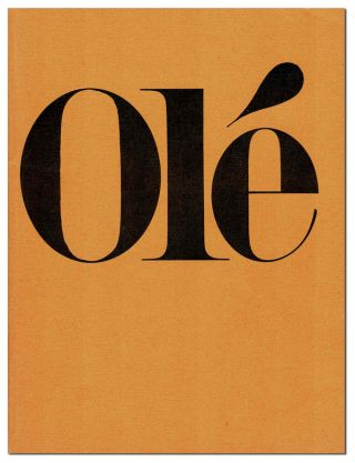 OLÉ ANTHOLOGY. Douglas Blazek, Charles Bukowski, d. a. levy, William Wantling, contributors