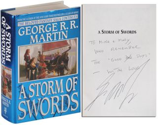 A SONG OF ICE AND FIRE: A GAME OF THRONES, A CLASH OF KINGS, A STORM OF SWORDS, A FEAST FOR CROWS, A DANCE WITH DRAGONS