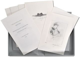 "THE JUMPING FROG: THE PRIVATE PRINTING OF THE ""JUMPING FROG"" STORY - DELUXE ISSUE, 1/50 COPIES"
