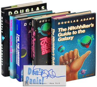 THE HITCHHIKER'S GUIDE TO THE GALAXY; THE RESTAURANT AT THE END OF THE UNIVERSE; LIFE, THE...
