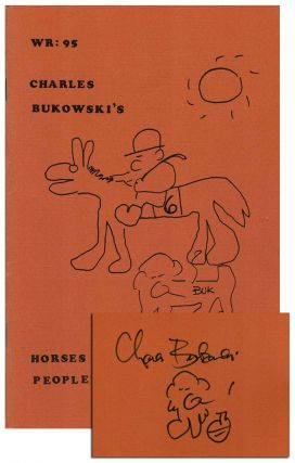 HORSES DON'T BET ON PEOPLE & NEITHER DO I (THE WORMWOOD REVIEW: 95) - LIMITED EDITION, SIGNED....