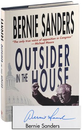 OUTSIDER IN THE HOUSE - SIGNED. Bernie Sanders, Huck Gutman