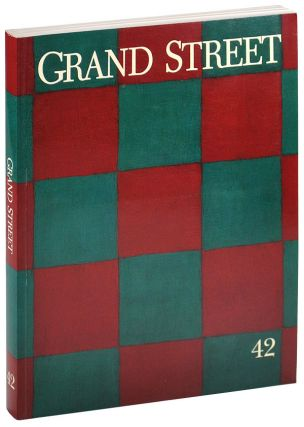 """THREE PROTRUSIONS"" [IN] GRAND STREET 42. David Foster Wallace, contributor"