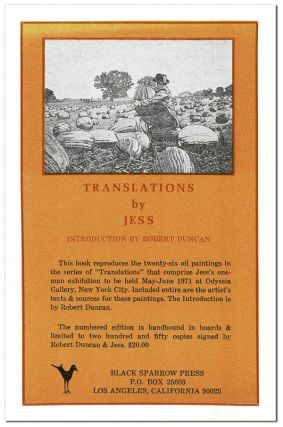 TRANSLATIONS - ORIGINAL PROSPECTUS. Jess, Collins