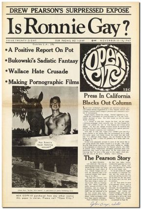 """NOTES OF A DIRTY OLD MAN"" [IN] OPEN CITY - ISSUE 28 (NOVEMBER 10-16, 1967) - SIGNED BY JOHN..."