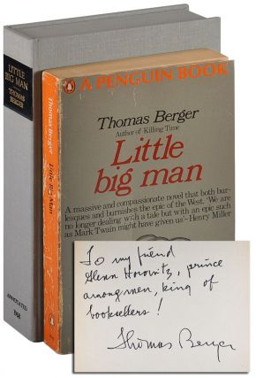 LITTLE BIG MAN - THOMAS BERGER'S ANNOTATED COPY