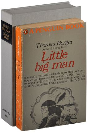 LITTLE BIG MAN - THOMAS BERGER'S ANNOTATED COPY. Thomas Berger