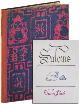 SALOME. text, binding, Mary Lamb, Charles, Fridolf Johnson, poem