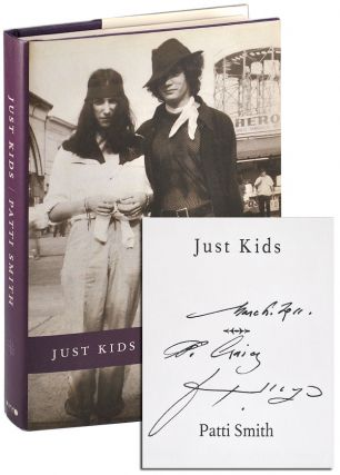 JUST KIDS - REVIEW COPY, INSCRIBED TO CRAIG ANDERSON. Patti Smith