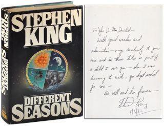 DIFFERENT SEASONS - INSCRIBED TO JOHN D. MACDONALD. Stephen King