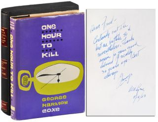 ONE HOUR TO KILL - INSCRIBED TO FREDERICK NEBEL. George Harmon Coxe