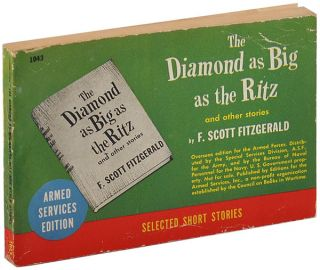 THE DIAMOND AS BIG AS THE RITZ AND OTHER STORIES. F. Scott Fitzgerald, Louis Untermeyer, stories,...