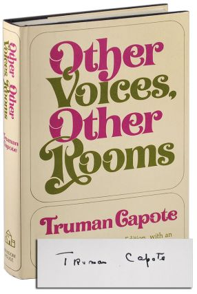OTHER VOICES, OTHER ROOMS - SIGNED. Truman Capote