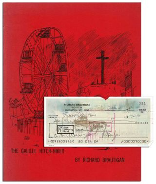 THE GALILEE HITCH-HIKER - WITH A SIGNED CHECK LAID IN